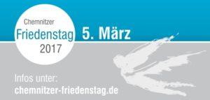 Chemnitzer Friedenstag - Sonntag, 05. März 2017 @ Stadthallenpark Chemnitz